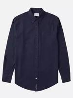 Men's 'Bacchus' Collar Button Up Long Sleeve Shirt
