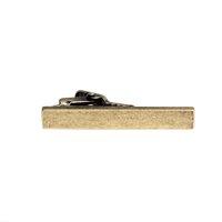 SprezzaBox Weekend Casual Tie Clip - Rustic Gold