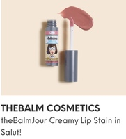 TheBalm Creamy Lip Stain in Salut!