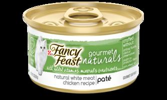 Fancy Feast Gourmet Naturals cat food