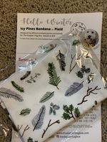 Icy Pines Pet Bandana - size Large