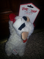 Lamb Chop Large Dog Toy
