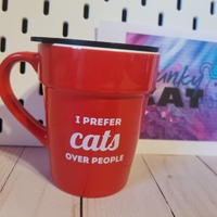 Prefer Cats Over People Mug to go