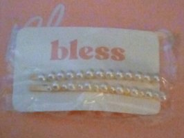 Bless Custom Pearl Hair Pins (2)