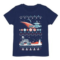 Ugly Sweater tee shirt NASA space