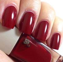 Lancome Red Nail Polish