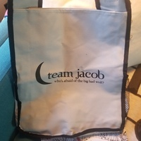 Twilight Team Jacob canvas bag