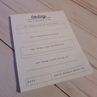 Today : Take It One Day At A Time notepad