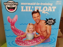 Big Mouth Inc Mermaid-in-Training Lil' Float