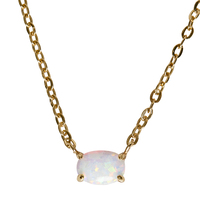 Ettika Opal Rose Necklace