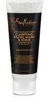 Shea Moisture African Black Soap Clarifying Facial Wash & Scrub