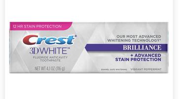 Crest 3D White Fluoride Anticavity Toothpaste