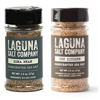 Laguna Salt Company- Kona Bean & The Kitchen Sea salt Duo