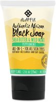 AUTHENTIC AFRICAN BLACK SOAP - PEPPERMINT