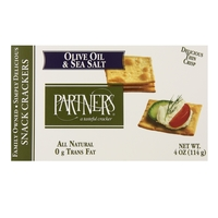 Partners Olive Oil & Sea Salt Crackers