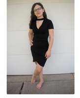 Hearts & Hips Isabella Black Dress