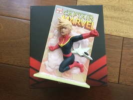 Captain Marvel 3D Comic Standee