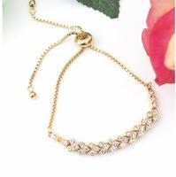 Tennis Slider Bracelet