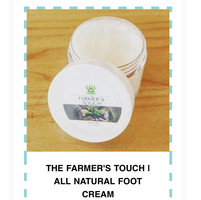 The Farmers Touch All Natural Foot Cream