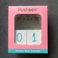 Pusheen Wooden Block Desk Calendar