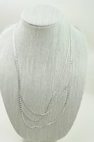 Silver Plated Long Necklace