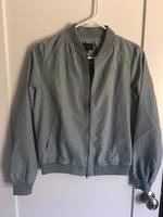 Be Cool Olive Bomber Jacket Size Small