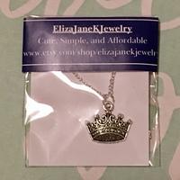Princess Bride Necklace by Eliza Jane K Jewelry