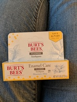 Burt's Bees Enamel Care Mountain Mint Toothpaste