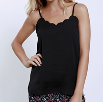 Current Air Scalloped Cami Size Small