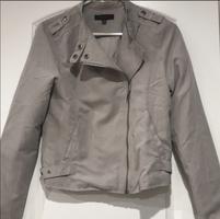 Be Cool Gray Moto Jacket size small