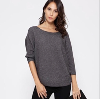 Be Cool Sparkle Dolman Sweater size small