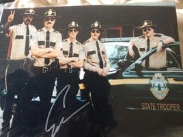 """Signed Erik Stolhanske """"Rabbit"""" photo (Super Troopers 2)"""