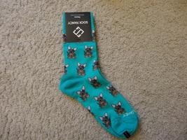 Sock Fancy Green with Dogs Socks