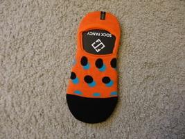 Sock Fancy Orange No-Show Socks