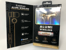 Bebe Alumi Wireless Earbuds With Carrying Case