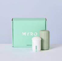 Myro Deoderant - Plant Powered Deoderant in Refillable Case - Bombay & Cedar April 2019