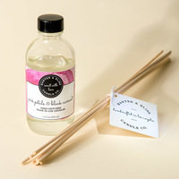 Banter & Bliss Reed Diffuser in Pink Petals & Black Currant