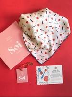 SOI Paris Silk Scarf