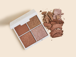ORYZA Nude Shimmer & Contour Eyeshadow Palette