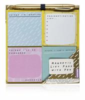 Magnetic List Pads with Pen