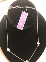 Necklace with crystal balls