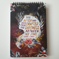 Throne of Glass hardcover notebook