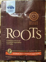 Deeply Rooted Roots veggies & fruits.