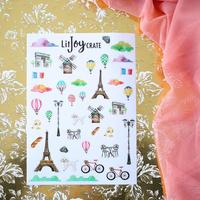 Parisian Sticker Sheet