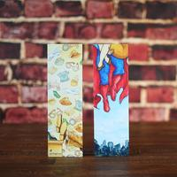 Double Sided Superman Bamboo Bookmark