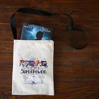 "Evie Bookish ""Reading is my superpower"" Crossbody Bag"