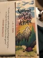 Summer was a book of hope woodmark by Ink & Wonder