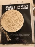Stars & Destiny wooden ornament