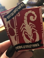 Bookish patch