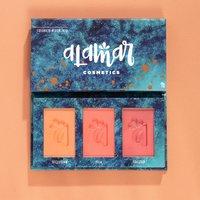 Alamar Cosmetics Colorete Blush Trio in Medium-Tan